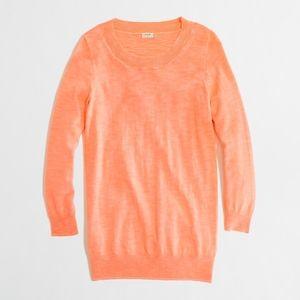J.Crew Women's Textured Charley Sweater in Neon M